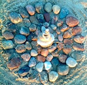 Akmenukų mandala